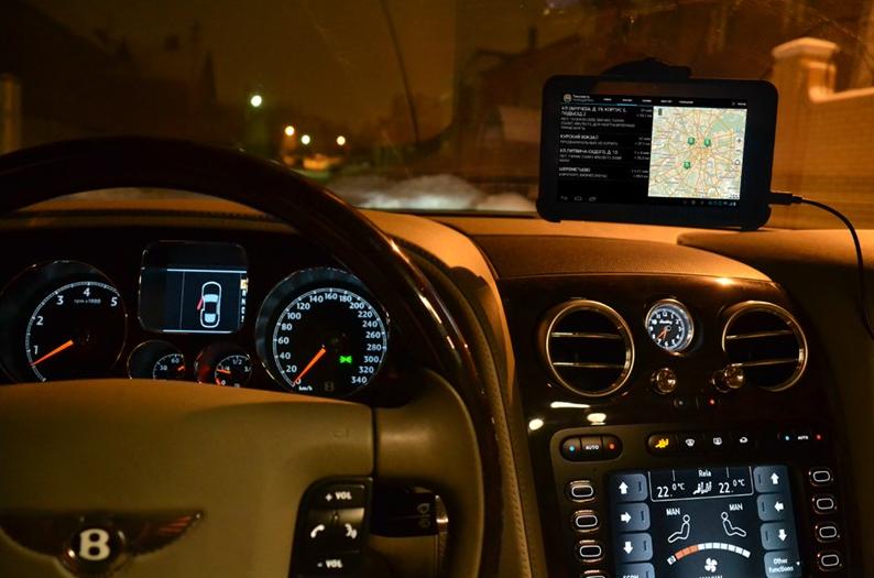 Подключение водителей к службам такси: Яндекс.Такси, UBER, РБТакси, Интертос.
