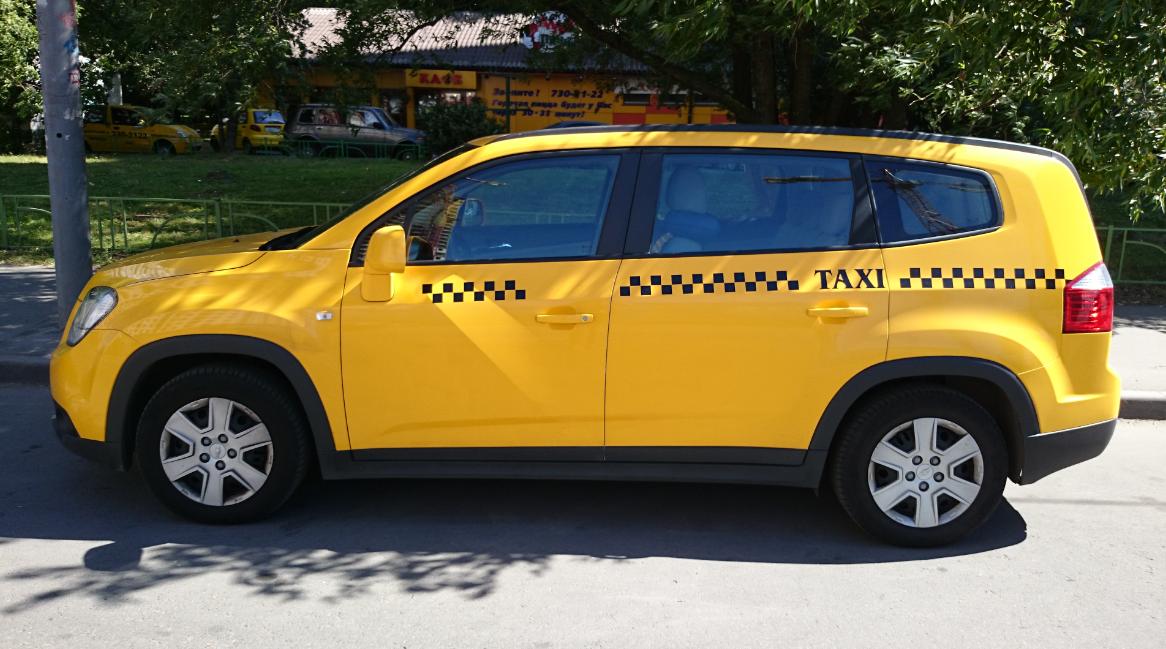 Chevrolet Orlando - лучший автомобиль для такси