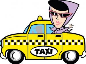 Летний отпуск на такси